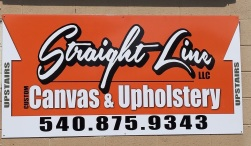 Straight Line Canvas & Upholstery, located at SMMS in Crystal Shores Marina
