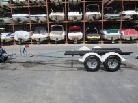 Used 2003 ShoreLand'r SR-V1946T Galvanized Tandem Axle Trailer-- only $2,200!