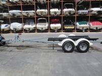 Used 2003 ShoreLand'r SR-V1946T Galvanized Tandem Axle Trailer-- only $2,200!